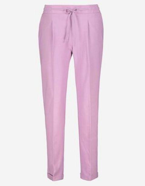 Dámy Látkové kalhoty  - Fixované přeložené nohavice akce v 449Kč