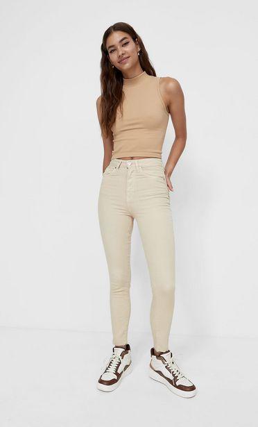 Coloured super high waist jeans akce v 549Kč