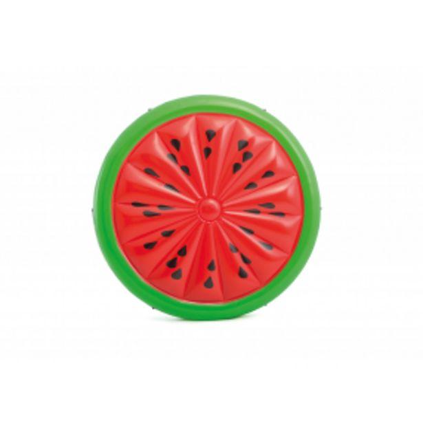 INTEX 56283EU Nafukovací matrace kulatá vodní meloun 183cm akce v 1199Kč