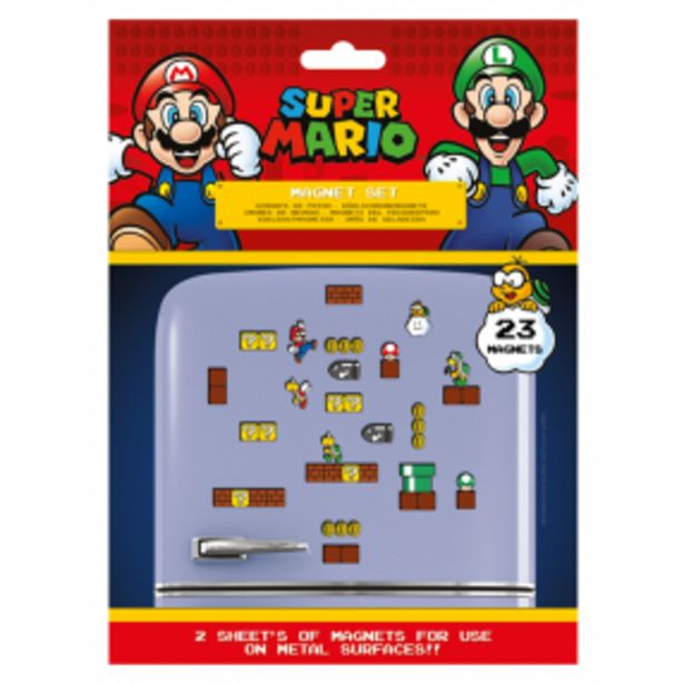 Sada magnetek, Super Mario akce v 169Kč