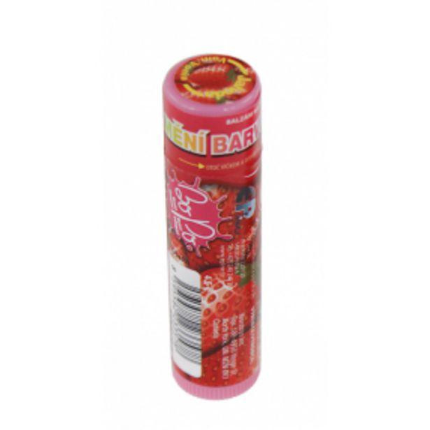 BO-PO Balzám narty měnící barvu čokoláda, jahoda, žvýkačka, akce v 79Kč