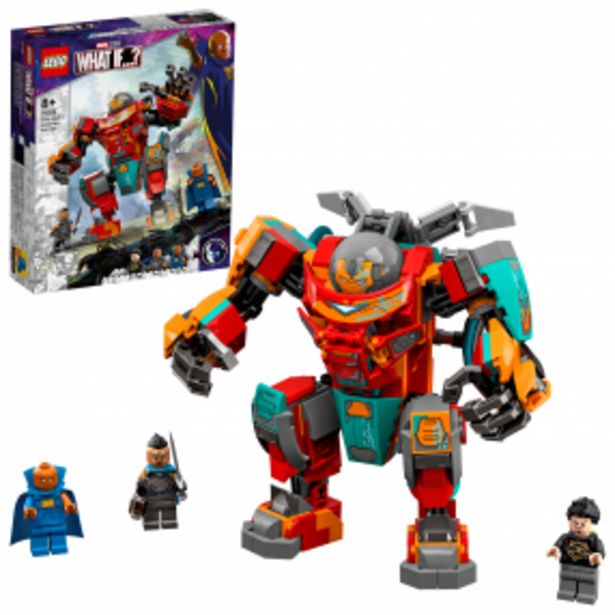LEGO® Marvel Avengers 76194 Sakaarianský Iron Man Tonyho Stark akce v 899Kč