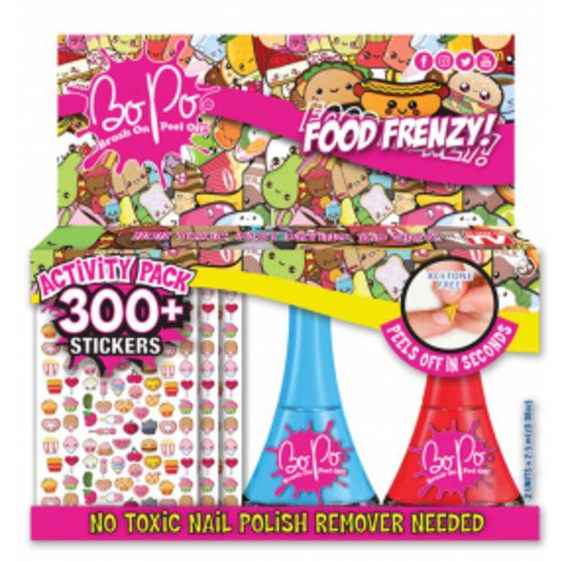 BO-PO aktivity pack jídlo akce v 199Kč