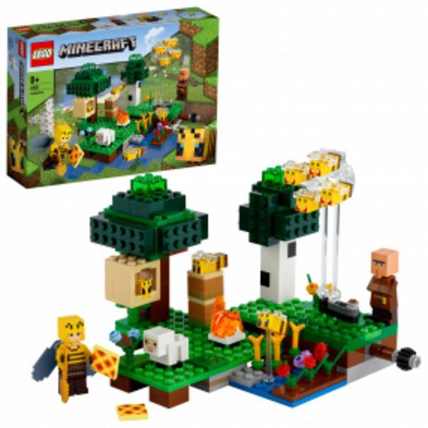 Lego 21165 Minecraft Včelí farma akce v 499Kč