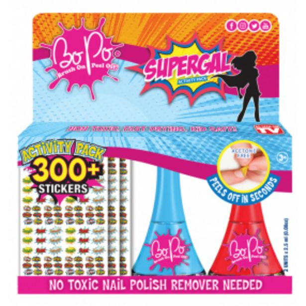 BO-PO aktivity pack super holka akce v 199Kč