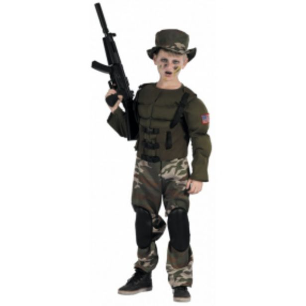Kostým super voják130-140 cm akce v 699Kč