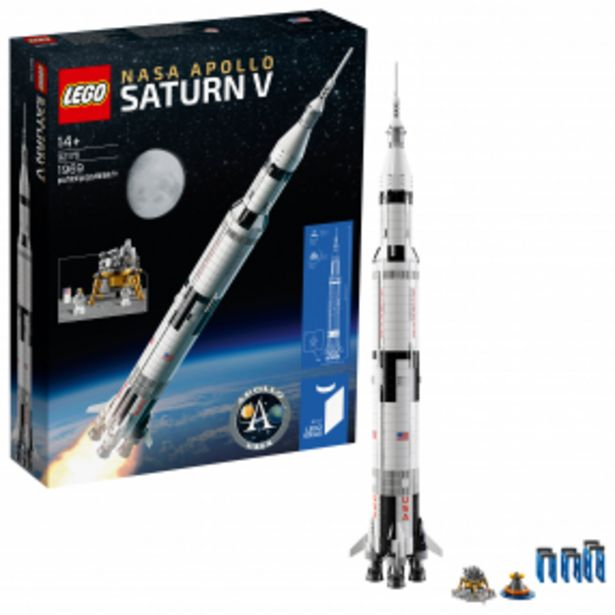 Lego Ideas NASA Apollo Saturn V akce v 2799Kč