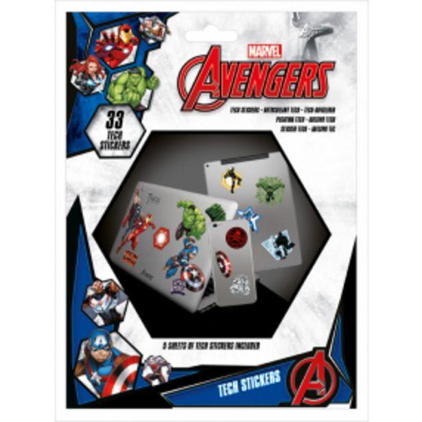 Sada samolepek, Avengers akce v 129Kč